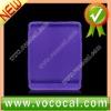 Anti Slipped Purple Silicone Back Skin Case for iPad