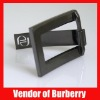 Bag Handbag Purse accessory Gun metal rectangle Buckle