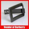 Bag Handbag Purse accessory Gun metal rectangle Buckle