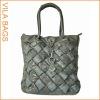 Black Casual Slouch Shoulder Handbag