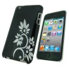 Black Hard Case For iPod Touch 4 Hard Case Cover