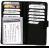 Black Leather Traval card holder