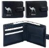 Black pu wallet