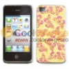 Blink Butterfly Glitter Veneering Case for iphone 4S