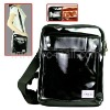 Bright Twill PU Leather Case Pouch Shoulder Messenger Bag for iPad 2 & iPad