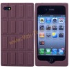 Chocolate Design Silicone Skin Case Cover for iPhone4