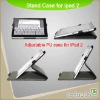 Collapsible leather case for iPad 2
