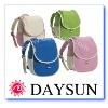 Color school backpack