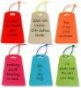 Colored and fashion designed luggage tag