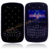 Colorful Diamond Imperial Crown Design Silicone Skin Case Cover for Blackberry Curve 8520&8530
