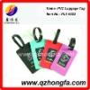 Colorful PVC Luggage Tag