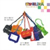 Colorful Patent PVC Luggage Tag