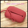 Colorful fashion silicone purse with high quality