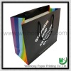 Colorful handle gift paper bag