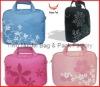Colorful printed ladies laptop bag