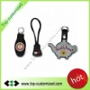Custom soft PVC zipper pull with your logo