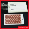 Cute cartoon design silicon bag tag-luggage tag