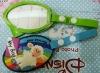 Cute design soft pvc luggage tag