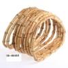 D -shape Bamboo handle