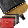 Exclusive top layer cow leather for iPad 2 sleeve (OEM)