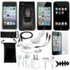 FOR APPLE IPOD TOUCH 4 15ITEM ACCESSORY BUNDLE