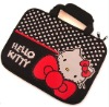 Fashion Black Hello kitty laptop bag