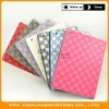 Fashion Magnetic Smart Leather Cover Front+Back Case Stand for iPad 2 Grid,7 Colors,Customers logo,OEM welcome