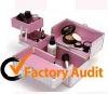 Fashion Pink Aluminum Cosmetic Case