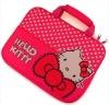 Fashion Red Hello kitty laptop bag