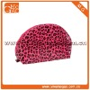 Fashion cute PU red leopard printing ziplock cosmetic pouch