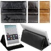 Fashion & functional genuine leather sleeve for Apple iPad 2