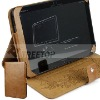Fashion genuine leather case for Motolora Xoom 3G