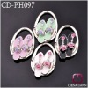Fashion gift slipper shape bag snap hook CD-PH097