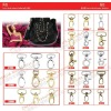 Fashion handbag metal case accessories ZJ6649