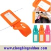Fashionable silicone name tag