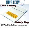 Fireproof LiPo Safety 22x18cm 23x30cm White Fiber Safe Bag,lipo safe bag,