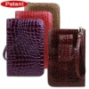 Flashing series leather case with lamp design for kindle leather cover
