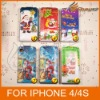 Flip Christmas Series Leather Case Protector Cover for iPhone4 4s &LF-0404