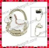 Foldable Hobby Horse Style Handbag Hook Purse Hanger Holder
