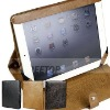 For Apple iPad 2 elegant leather stand case, for ipad 2 cover