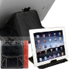 For Apple iPad 2 leather case,for ipad 2 leather sleeve--top layer cow leather material