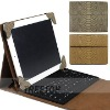 For Apple iPad 2 leather case newest snake skin fashion design leather case