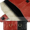 For Blackberry PlayBook genuine leather case with strap buttton, for playbook case