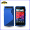 For Motorola RAZR XT910, S-line Wave Gel Case, New Arrival, High Quality, Laudtec