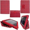 For Samsung Galaxy Tab 10.1 P7510 P7500 Flip Leather Case Polka Dots Pattern