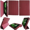 For Samsung Galaxy Tab 2 10.1 P7510 Smart Funstion stand Leather Case (Pink Color)
