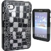 For Samsung P1000 delicate leather case, genuine leather material