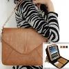 For iPad 2 fashion handle genuine leather bag,for iPad 2 case