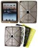 For iPad silicon case in Spider Web design