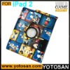 For ipad 2 rotary leather PU case